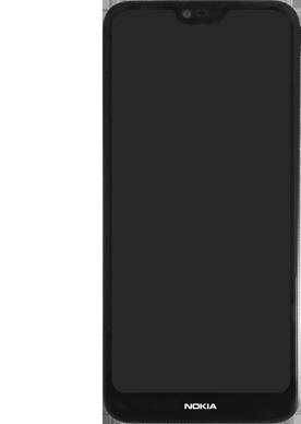 Nokia 7.1 - Premiers pas - Insérer la carte SIM - Étape 6