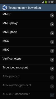 Samsung N9005 Galaxy Note III LTE - Internet - handmatig instellen - Stap 13