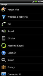 HTC Z710e Sensation - Internet - Manual configuration - Step 4