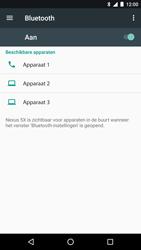 LG Nexus 5x - Android Nougat - Bluetooth - Headset, carkit verbinding - Stap 6