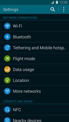 Samsung Galaxy S5 mini - Network - Usage across the border - Step 4