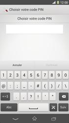Sony Xpéria Z1 - Sécuriser votre mobile - Activer le code de verrouillage - Étape 7