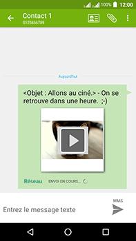 Acer Liquid Zest 4G Plus - MMS - envoi d'images - Étape 19