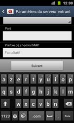 Samsung I9100 Galaxy S II - E-mail - Configurer l
