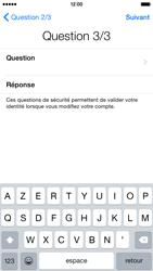 Apple iPhone 6 iOS 8 - Premiers pas - Créer un compte - Étape 27