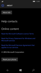 Microsoft Lumia 650 - Device - Reset to factory settings - Step 7