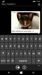 Microsoft Lumia 535 - Mensajería - Escribir y enviar un mensaje multimedia - Paso 13
