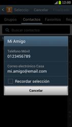 Samsung I9300 Galaxy S III - Mensajería - Escribir y enviar un mensaje multimedia - Paso 7