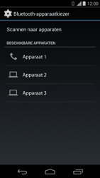 Motorola Moto G (1st Gen) (Kitkat) - Contactgegevens overzetten - delen via Bluetooth - Stap 9