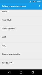 Sony Xperia Z5 Compact - Mensajería - Configurar el equipo para mensajes multimedia - Paso 10