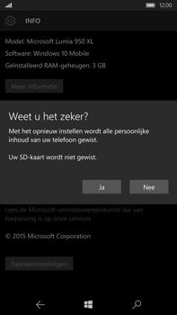Microsoft Lumia 950 XL - Toestel reset - terugzetten naar fabrieksinstellingen - Stap 8