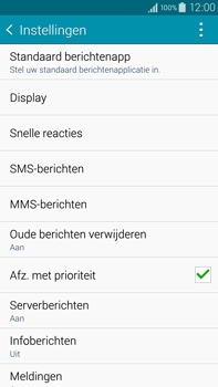 Samsung N910F Galaxy Note 4 - MMS - probleem met ontvangen - Stap 6