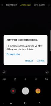 Samsung Galaxy S9 Plus - Photos, vidéos, musique - Créer une vidéo - Étape 5