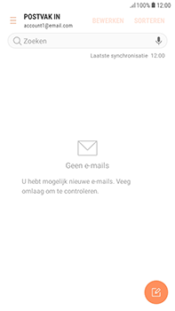 Samsung Galaxy J4 - E-mail - handmatig instellen - Stap 6