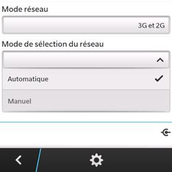 BlackBerry Q5 - Réseau - utilisation à l'étranger - Étape 10