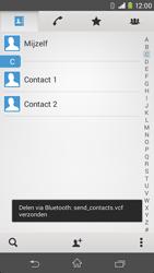 Sony Xperia M2 4G (D2303) - Contacten en data - Contacten overzetten via Bluetooth - Stap 12