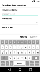 LG X Power - E-mail - Configuration manuelle - Étape 9