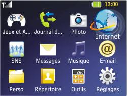 LG C320 InTouch Lady - Internet - Configuration manuelle - Étape 15