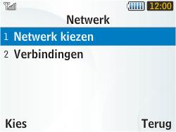 Samsung S3350 Chat 335 - Buitenland - Bellen, sms en internet - Stap 5