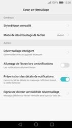 Huawei P9 - Sécuriser votre mobile - Activer le code de verrouillage - Étape 5