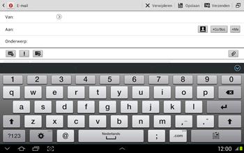 Samsung N8020 Galaxy Note 10-1 LTE - E-mail - Hoe te versturen - Stap 5