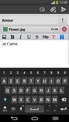 LG D955 G Flex - E-mail - envoyer un e-mail - Étape 17