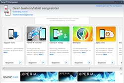 Sony Xperia Tablet Z2 4G (SGP521) - Software - Update installeren via PC - Stap 3