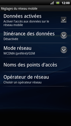 Sony Ericsson Xperia Arc S - Internet - activer ou désactiver - Étape 6