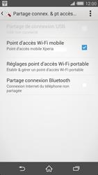 Sony Xperia Z2 - Internet et connexion - Partager votre connexion en Wi-Fi - Étape 14