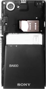 Sony Xperia L - Primeros pasos - Quitar y colocar la batería - Paso 6
