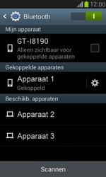 Samsung I8190 Galaxy S III Mini - Bluetooth - koppelen met ander apparaat - Stap 10