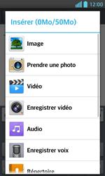 LG Optimus L5 II - E-mails - Envoyer un e-mail - Étape 11