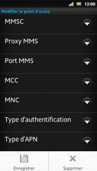 Sony MT27i Xperia Sola - MMS - Configuration manuelle - Étape 14