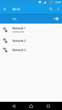 Sony Xperia Z5 Premium (E6853) - Wi-Fi - Connect to a Wi-Fi network - Step 8