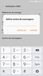 Samsung Galaxy A5 (2017) - SMS - Como configurar o centro de mensagens -  9