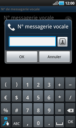 Samsung I9000 Galaxy S - Messagerie vocale - Configuration manuelle - Étape 7