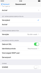 Apple iPhone 6 Plus iOS 8 - E-mail - Handmatig instellen - Stap 25