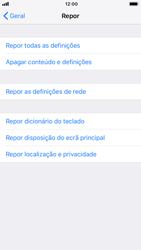 Apple iPhone 7 - iOS 12 - Repor definições - Como repor definições de fábrica do telemóvel -  6