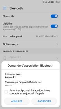 Huawei Mate 9 Pro - Bluetooth - Jumeler avec un appareil - Étape 6