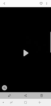 Samsung Galaxy S9 - Photos, vidéos, musique - Créer une vidéo - Étape 17