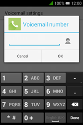 Alcatel Pixi 3 - 3.5 - Voicemail - Manual configuration - Step 9