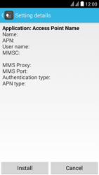 Huawei Ascend Y625 - MMS - Automatic configuration - Step 6