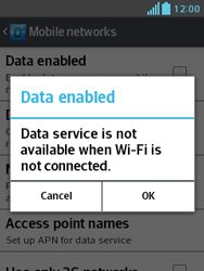 LG E430 Optimus L3 II - Internet - Enable or disable - Step 7