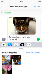 Apple iPhone 6 - iOS 12 - MMS - Envoi d