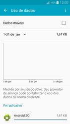 Samsung Galaxy A5 - Rede móvel - Como ativar e desativar uma rede de dados - Etapa 7