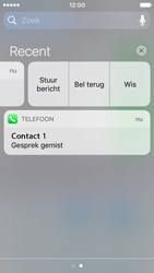 Apple iPhone SE - iOS 10 - iOS features - Bewerk meldingen - Stap 12