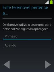 Samsung Galaxy Pocket Neo - Primeiros passos - Como ligar o telemóvel pela primeira vez -  11