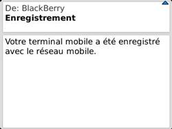 BlackBerry 9320 Curve - Paramètres - Reçus par SMS - Étape 12