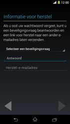 Sony Xperia Z1 4G (C6903) - Applicaties - Account aanmaken - Stap 12
