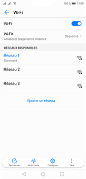 Huawei P20 pro - Internet et connexion - Accéder au réseau Wi-Fi - Étape 8